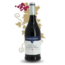 CARTA PLATA CASTILLA BERBERANA Red Spanish Wine