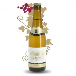 Beer belge blond beer ST Feuillien Grand Cru