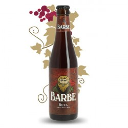 Beer belge red Barbe red 33 cl