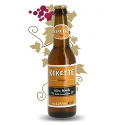 Kekette Red Craft Beer 33 cl aromatisée au Ciitron et cassis
