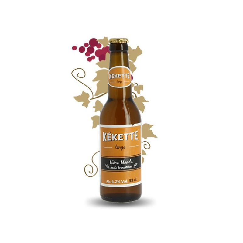 Kekette Red Bière Artisanale 33 cl aromatisée au Ciitron et cassis