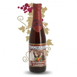 Beer belge fruité Timmermans  STRAWBERRY LAMBICUS 33 cl
