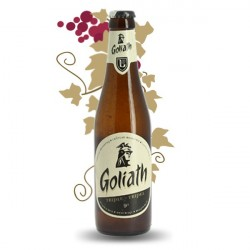 Beer blond beer belge Goliath triple beer 33 cl