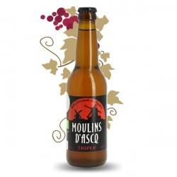 MOULIN D'ASCQ TRIPLE BEER 33CL