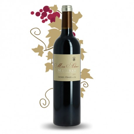Mon Adour Madiran Red Wine by Lionel Osmin
