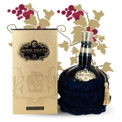 CHIVAS Royal Salute 21 Year Old the Sapphire Flagon Blended Scotch Whiskey