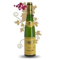 PINOT GRIS Domaine LORENTZ Alsace Fruitty Dry White Wine Half Bottle