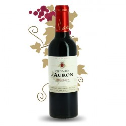 Red Bordeaux Wine Chevalier d'Auron Half Bottle