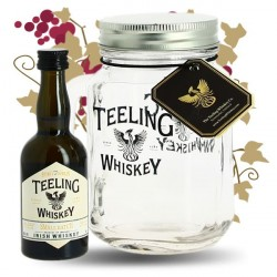 TEELING 5 cl Mini Bottle in a Jar Glass