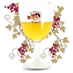 BOURGEOISES de CALAIS Beer Glass 3 L