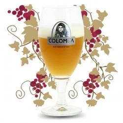 COLOMBA Beer Glass