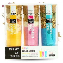 COLOR COCKTAIL ADDICT Gift Box by Quai Sud