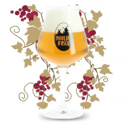 MOULINS d'ASCQ Beer Glass