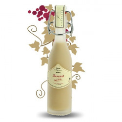 BISCUIT Cream Liqueur Miniature Bottle 4 cl by FISSELIER