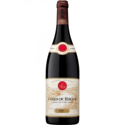 Red Cotes du Rhone Wine by Guigal