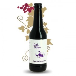 Beer LITTLE BICHOS Purple Scorpion Cocoa Imperial Stout