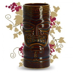 Glass for COCKTAIL TIKI BROWN 59CL