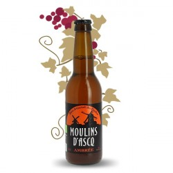 Moulins d'Ascq Organic French Amber Beer 33 cl