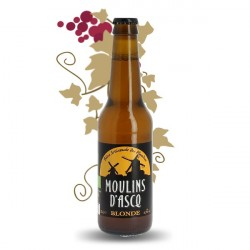 Moulins d'Ascq Organic French Blond Beer 33 cl